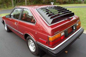 kendaraan murah dibawah 15 juta - Honda Accord (1983)
