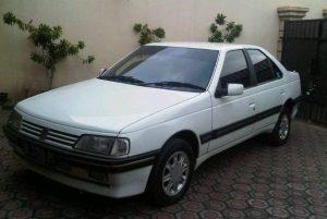 mobil murah dibawah 15 juta - Peugeot 405 Sti (1996)