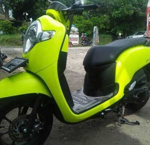 Cara Modifikasi Motor vinyl wrap