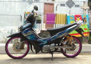 motor drag jupiter z 250cc