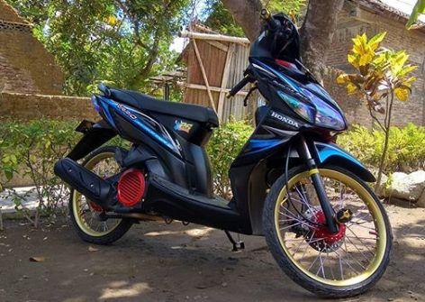 Modifikasi Motor Vario Techno 125 Demico Co