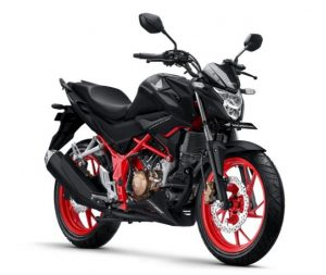 New Honda CB150R StreetFire hitam