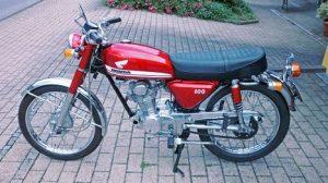 CB 100-K0 (1970-1971)