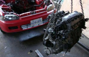 Engine Swap - Modifikasi Mobil Sedan