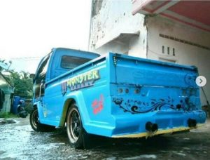 modifikasi mobil pick up carry 1 5