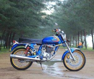 modifikasi motor cb 100 mesin tiger