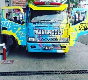 kontes truk modifikasi