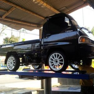 pick up mitsubishi t120ss modifikasi ceper