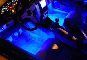 LED interior -modifikasi interior mobil
