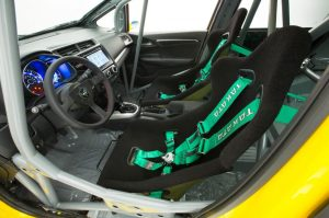 honda jazz modifikasi balap sport kabin