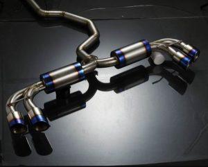 modifikasi knalpot mobil brio