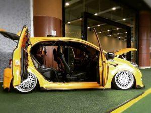 modifikasi mobil brio