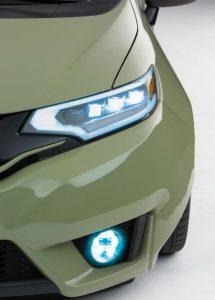 modifikasi mobil honda jazz lampu depan