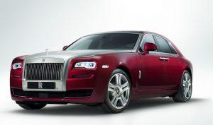 Rolls-Royce Ghost - Merk Mobil Mewah