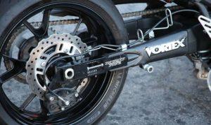 modifikasi swing arm pada motor balap drag