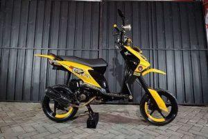 Modifikasi Motor Modifikasi Honda Beat Street Simple