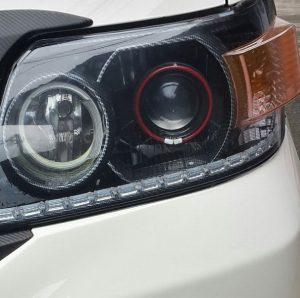 Luxio modif lampu depan