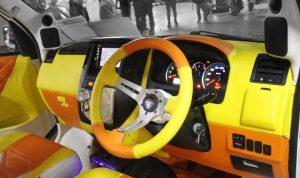 modifikasi interior daihatsu luxio