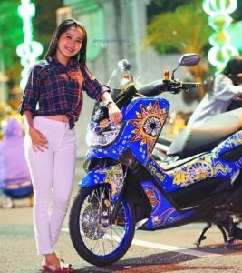 modifikasi nmax warna biru