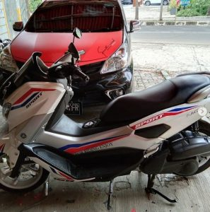 modifikasi nmax kuning