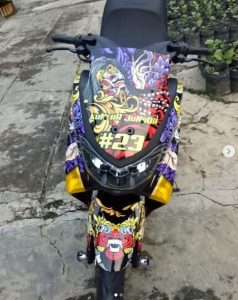modifikasi nmax biru