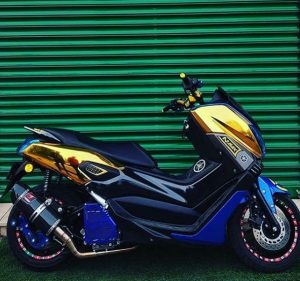 modifikasi nmax silver