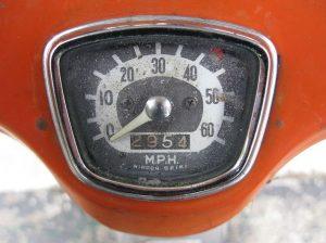 Honda CA100 Super Cub Tahun 1966