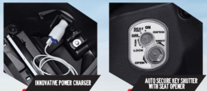 fitur honda ne supra x 125 terbaru -charger dan kunci magnet