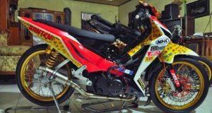 modifikasi supra 125 racing