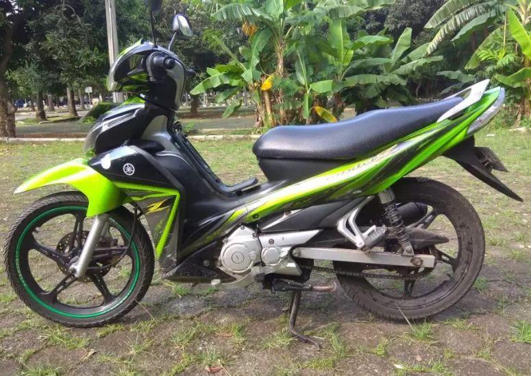 Yamaha Jupiter ZX 2010 motor murah harga di bawah 10 juta