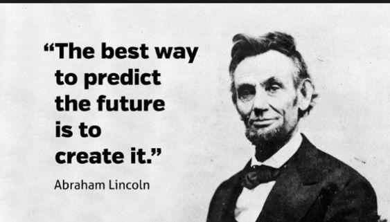 kata bijak tokoh dunia dalam bahasa inggris dan artinya - the best way to predict the future