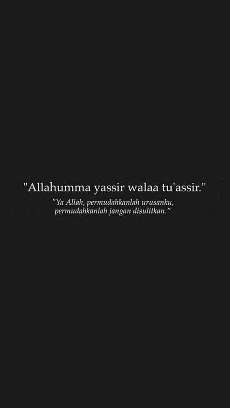 kata kata bijak islam - ya allah permudahkan urusanku