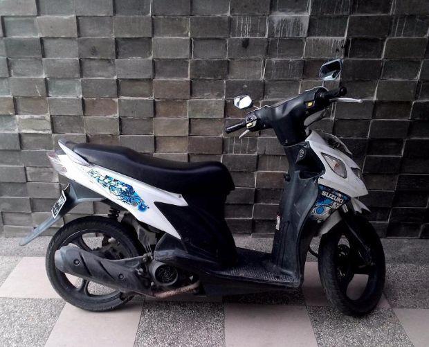 motor murah bekas suzuki nex 2012