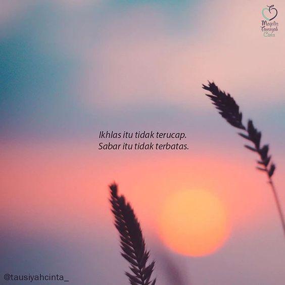 mutiara kata bijak motivasi hidup - ikhlas itu tidak terucap
