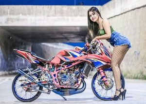 motor modifikasi ninja rr street fighter