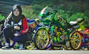 modifikasi ninja rr street fighter