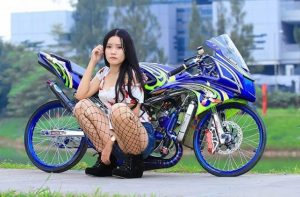 modifikasi ninja 2 tak drag