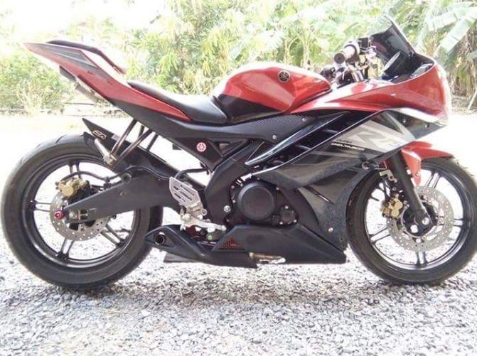 Yamaha YZF R15 Modifikasi knalpot