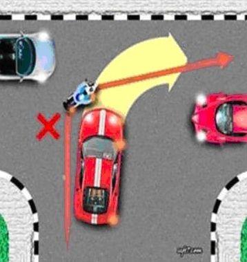 belajar mengemudi mobil belok kanan benar
