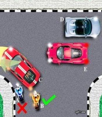 belajar mengemudi kendaraan belok kiri