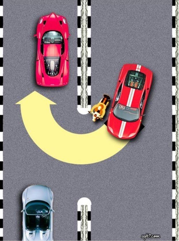belajar mengemudi mobil putar balik